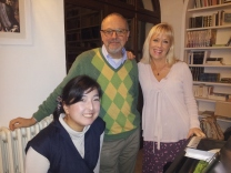 Yuko, Mario e Catharina