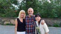 Catharina, Mario e Yuko